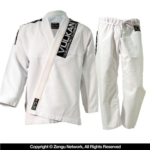 Vulkan Vulkan Ultra Light White BJJ Gi